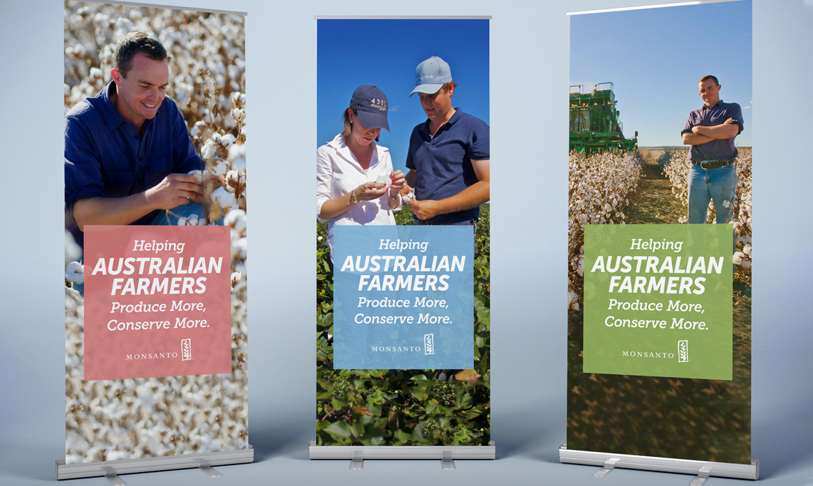 Monsanto Pull-up Banners